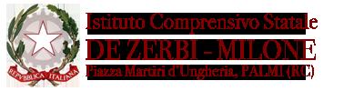 Istituto Comprensivo Statale – DE ZERBI-MILONE